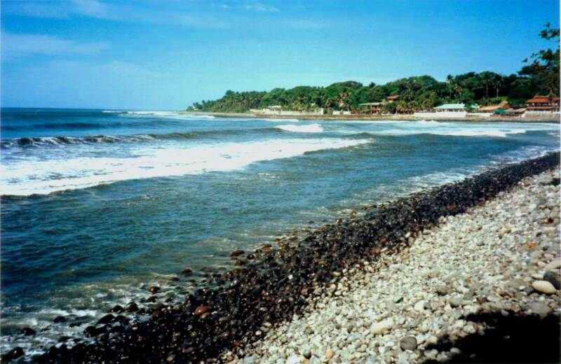 playas de el salvador. The El Salvador Spanish